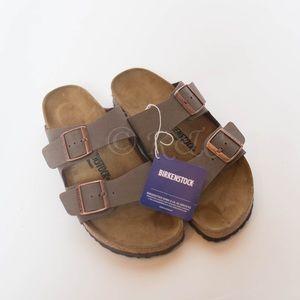 BIRKENSTOCK ARIZONA mocha sandal 40 Narrow New